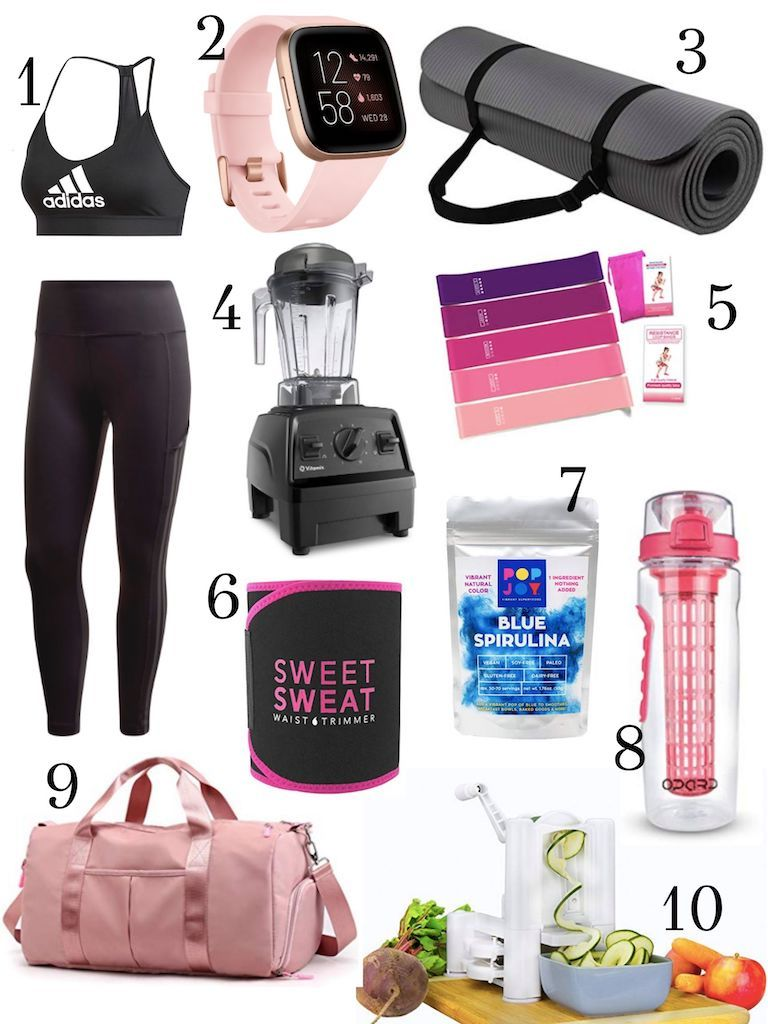 10 Perfect Gift Ideas for the Health Nut (Or to Jumpstart Your Resolutions). Christmas is still a ways off but you can't be too prepared! #gifts #Christmas