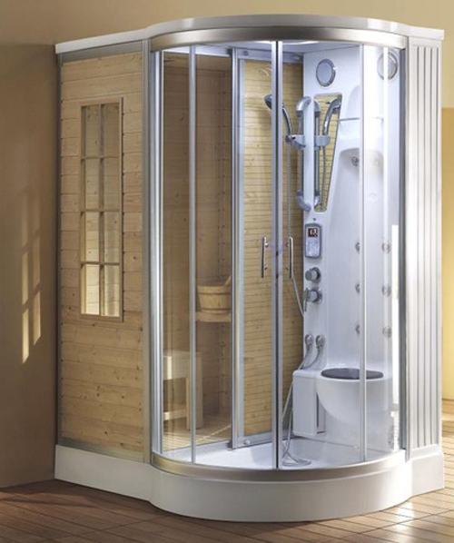 4 Blissful Steam Shower Sauna Combinations Steam Shower Enclosure Steam Shower Units Shower Enclosure Kit
