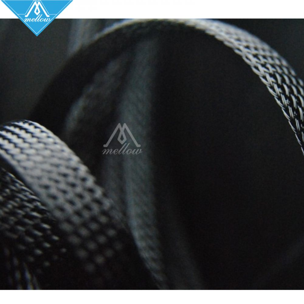 Office Electronics Expandable Braided Pet Premium Cable Sleeve Nylon Cable For Reprap Ultimaker 2