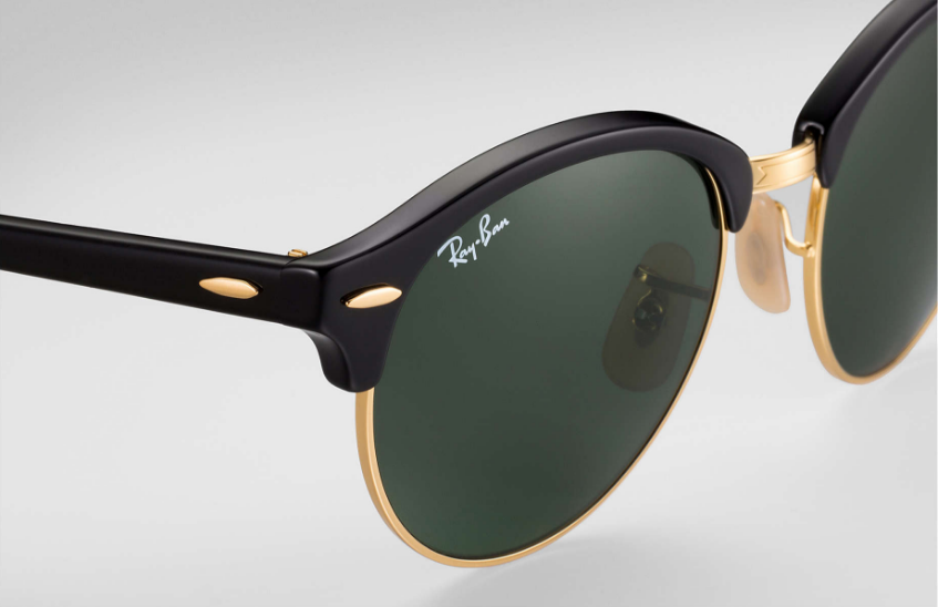 5cf66d2881a065 Ray Ban Round Clubmaster Sunglass Black RB 4246 901 The New Ray Ban Round  Clubmaster takes an iconic style and brings it to 2016 with the awesome  round ...