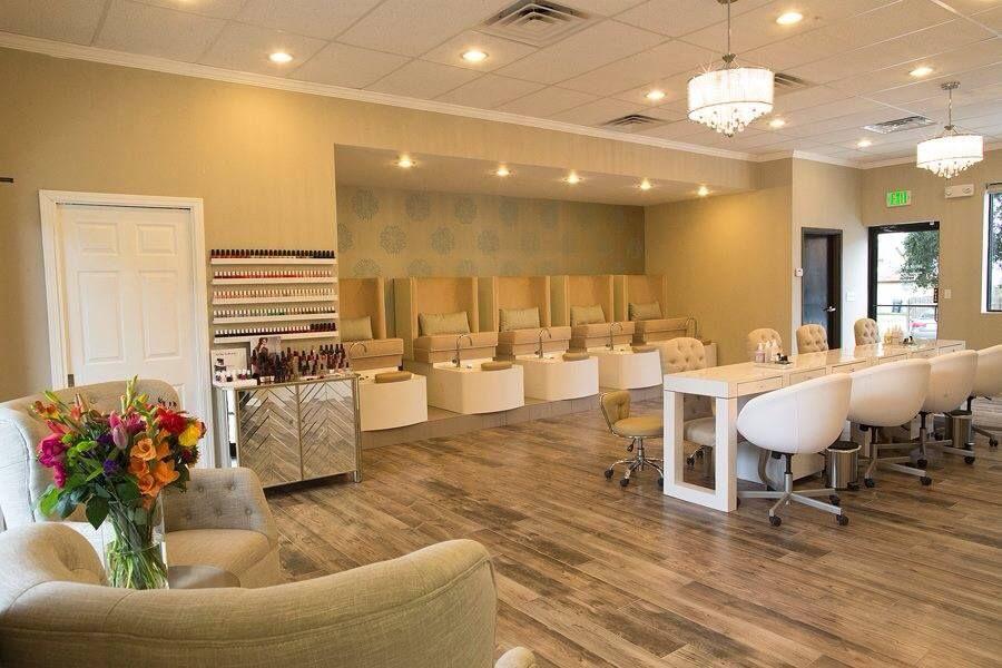Espacio para manicure y pedicure ideas para mi peluqueria decorado de salones decoracion de - Bar salon design ...