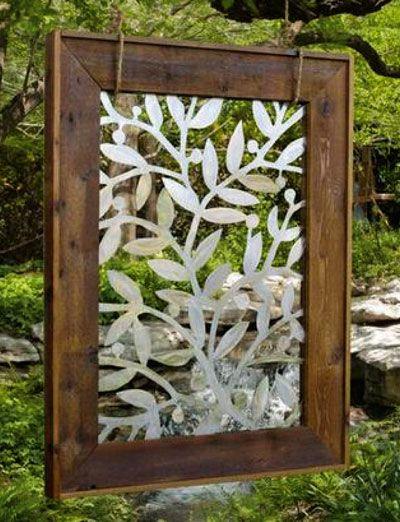 Home and Garden Metal Sculpture Diseño de interiores Pinterest