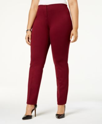 cb73354d1d3 Alfani Plus Size Hollywood Skinny Ponte Pants