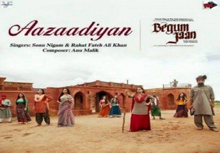 Aazaadiyan Lyrics Sonu Nigam With Images Songs Hindi Movie Video Rahat Fateh Ali Khan
