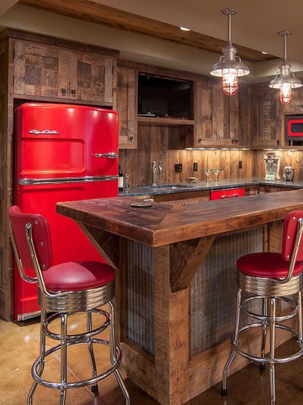Awesome Rustic Bar Design Ideas Bars For Home Rustic Basement