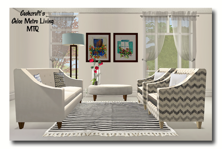 Sims 2   Cashcraftu0027s Chloe Metro Living Recolors   Downloads   BPS Community
