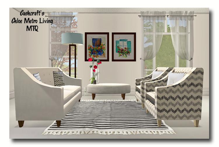 Sims 2   Cashcraftu0027s Chloe Metro Living Recolors   Downloads   BPS Community