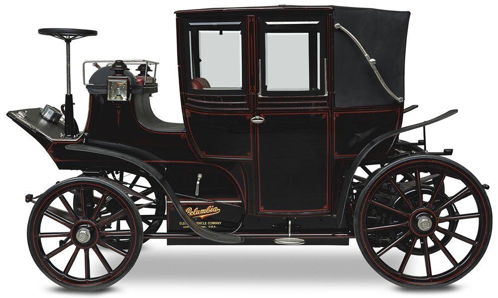 Columbia Electric Landaulet 1899 Vintage Vehicles