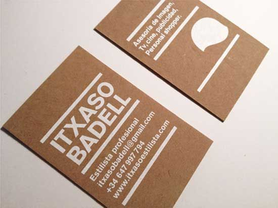 Kraft chipboard brown recycled paper business cards jugo ideas kraft chipboard brown recycled paper business cards colourmoves