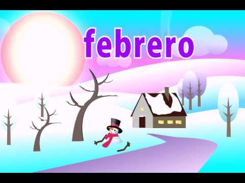 Learn the Months of the Year in Spanish Song Kid's