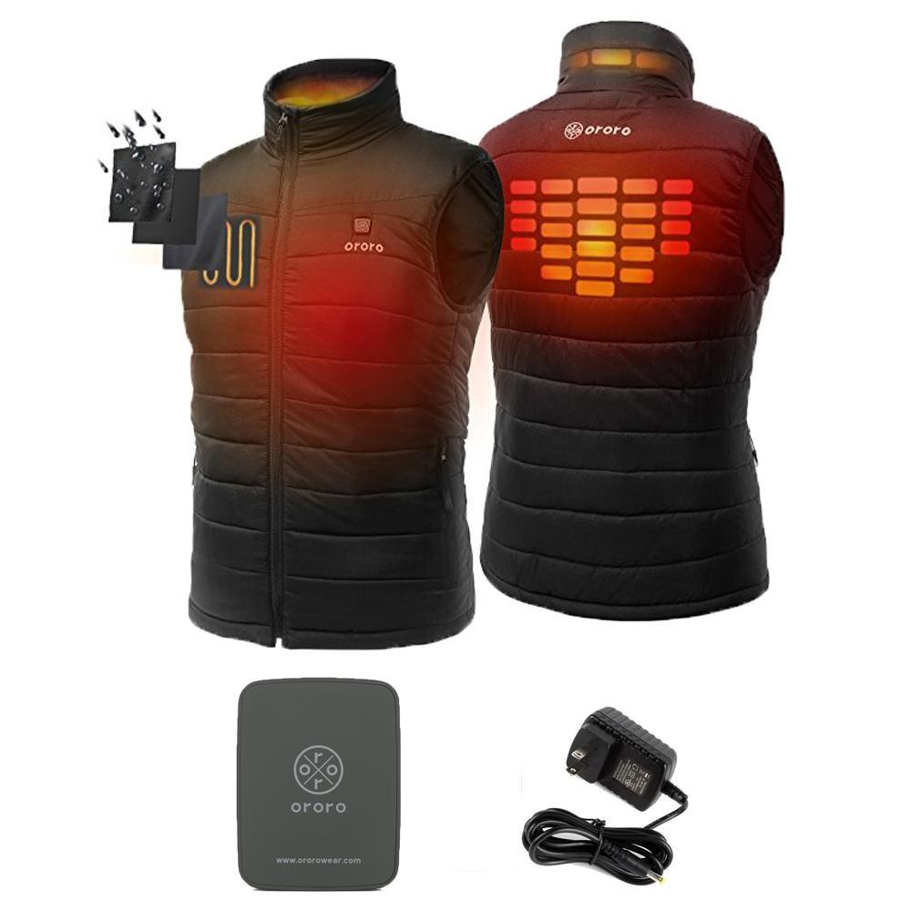 Electric Heated Sleeveless Vest For Men Vest, Mountain