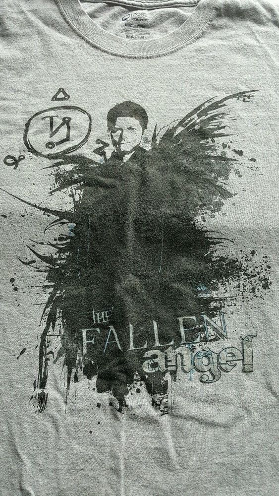 Unisex Supernatural Castiel t-shirt The Fallen Angel sz XL Misha Collins NWOT  #CSport #GraphicTee #mishacollins #spn #spnfamily #supernatural #cw #angel #creationentertainment #tshirt #fandom #fashion #pets #animal #charity   Purchase directly from @domesticatednaturalpet and even more money will go to benefit the animals instead of lining the pockets of eBay. On Facebook @domesticatednaturalpet