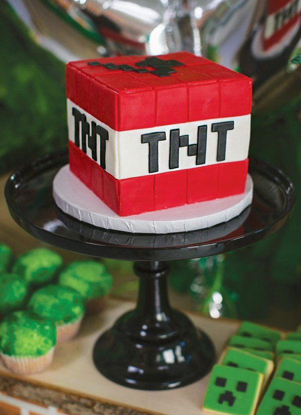 Block Party Minecraft Birthday Madness Minecraft Party