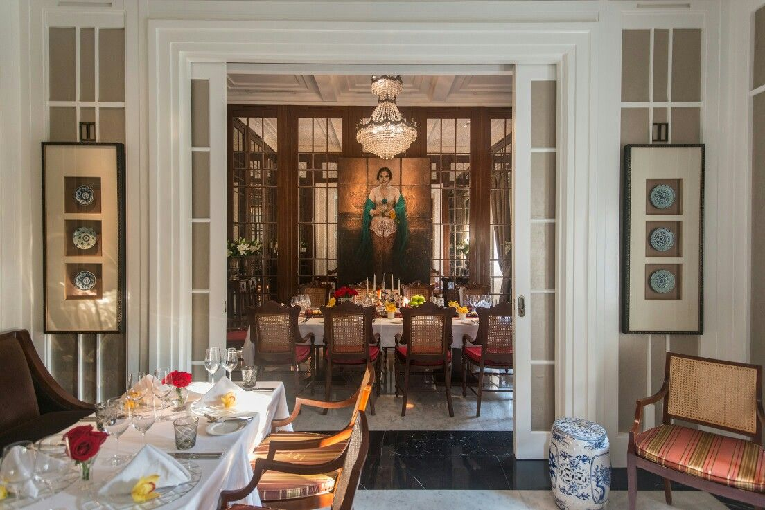 Pai Architecture Jakarta. Private Dining The Hermitage Jakarta.