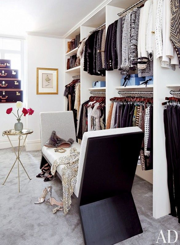 The 15 Most Stunning Closets You've Ever Seen via @domainehome