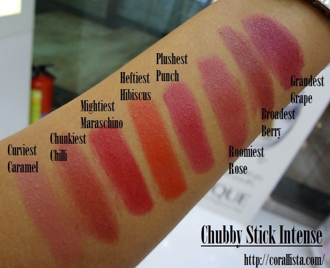 Clinique Chubby Stick Intense for Lips - Swatches | Beautimus ...