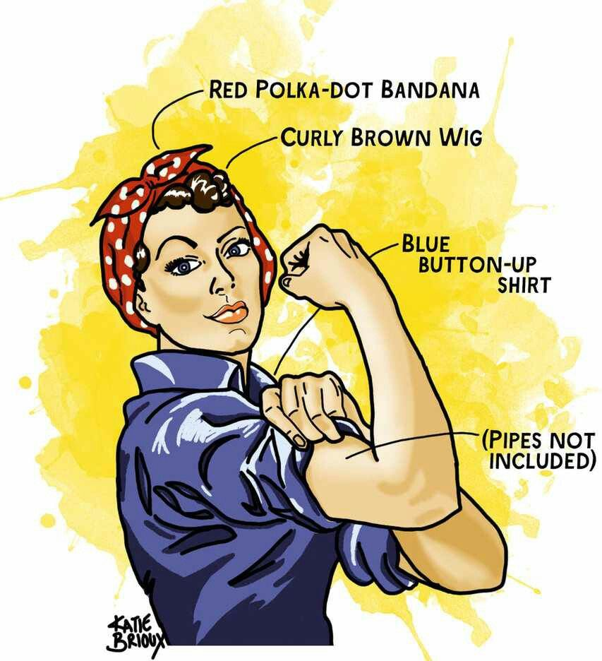 rosie the riveter by iheartmanga digital art drawings illustrations storybook iheartmanga rosie the riveter halloween costume idea graphic for the - Rosie The Riveter Halloween Costume