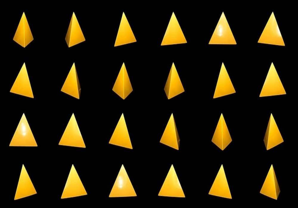 Rumus Tetrahedron Geometri 3 Dimensi Beserta Contoh Soal Jawaban Geometri Seni Modern Seni