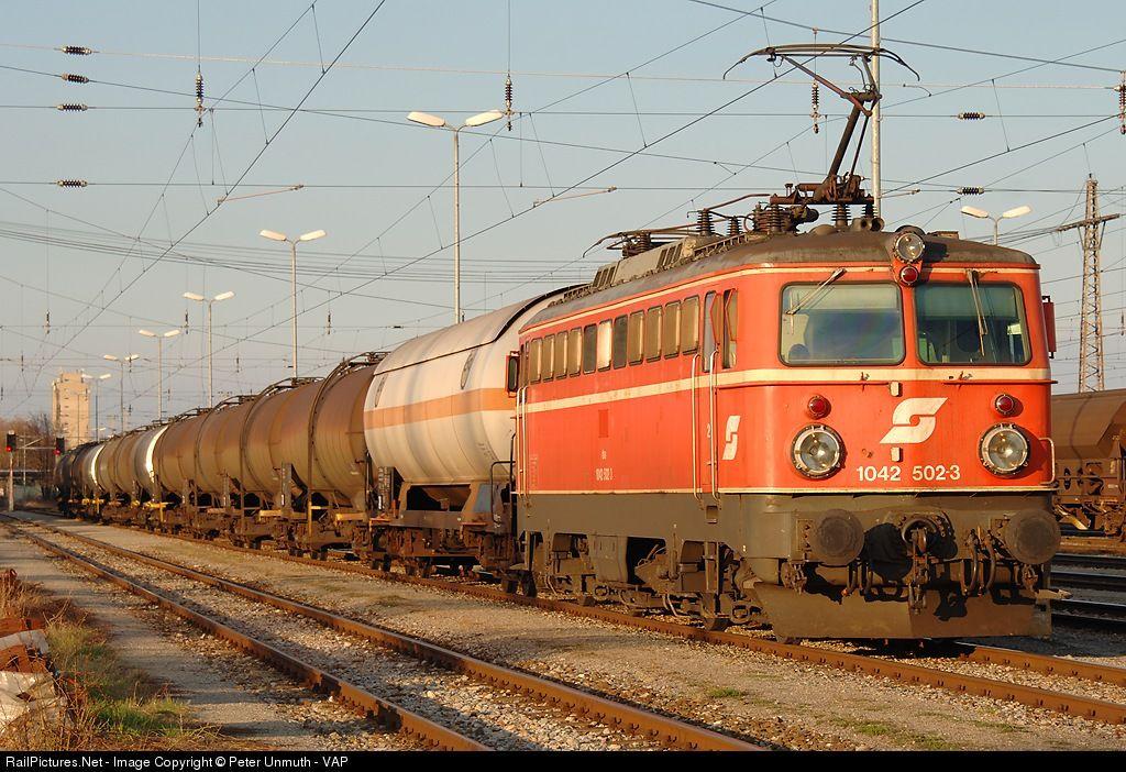 RailPictures.Net Photo: 1042-502-3 OBB Austria Rail 1042 at Vienna, Austria by Peter Unmuth - VAP (With images) | Austria, Train, Lancashire