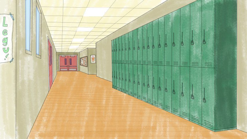 School Hallway Clip Art School Hallways Hallway Small Hallways
