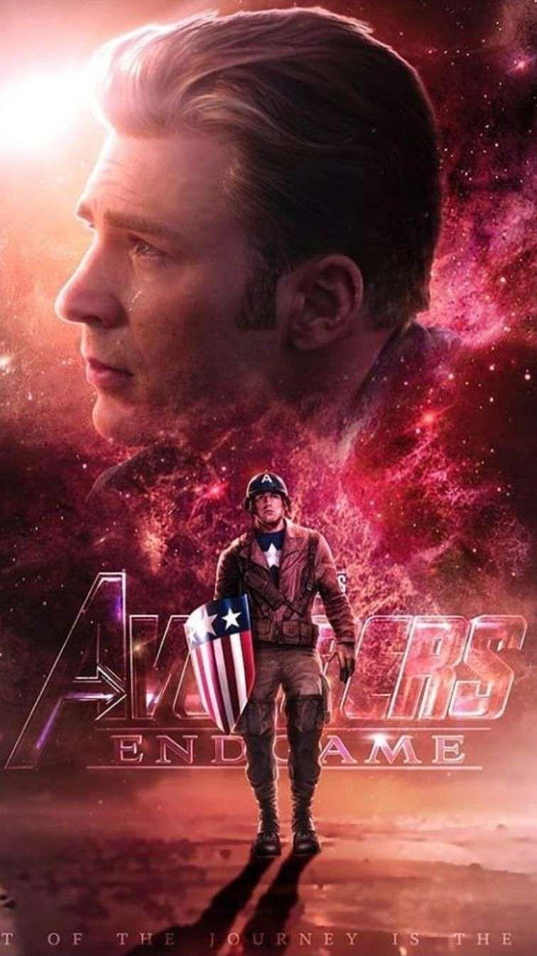 Captain America Endgame Iphone Wallpaper Iphone Wallpapers