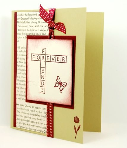 Friends forever on this handmade friendship greeting card friends forever on this handmade friendship greeting card m4hsunfo Images