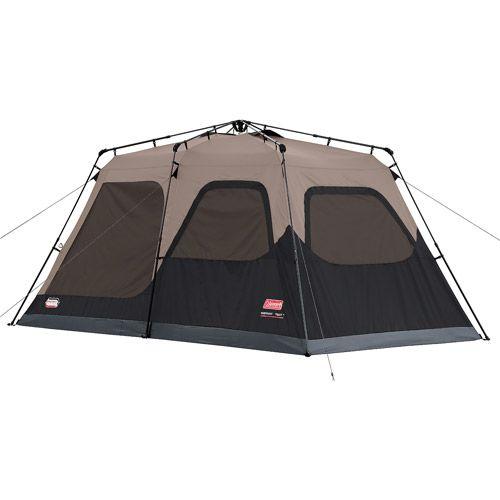 Coleman 8 Person Instant Cabin Tent Walmart Com Instant Tent Cabin Tent Family Tent Camping