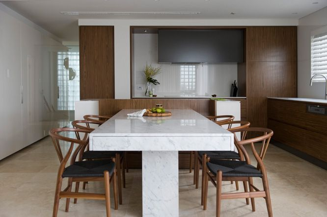 Table Has Remote Control Extension Hans J Wagner Wishbone Chairs Kitchen Island With Seating Kitchen Island And Table Combo Kitchen Island With Table Attached
