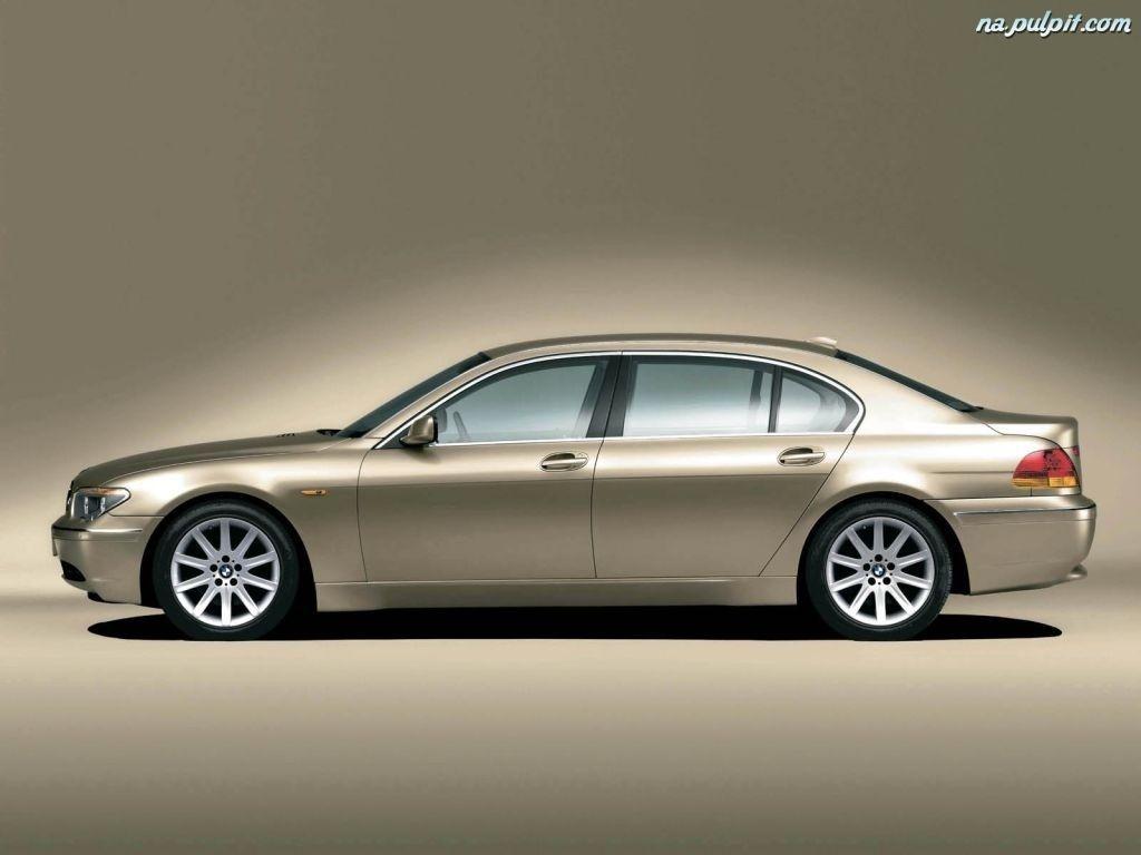 BMW 7, Lewy Profil