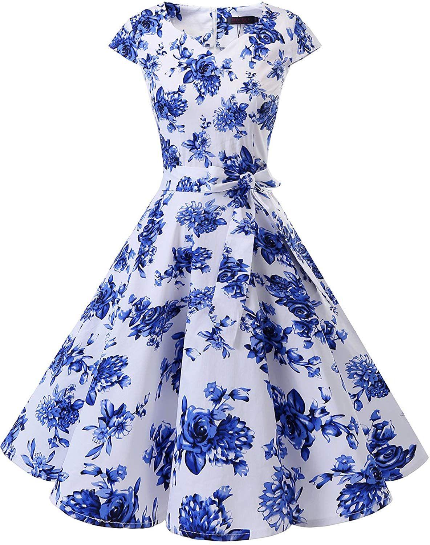 Amazon Com Dresstells Vestido De Coctel Retro De Los Anos Cincuenta Vintage Con Mangas Classic Xs Clothing Cocktail Dress Vintage Vintage Tea Dress Dresses [ 1500 x 1184 Pixel ]