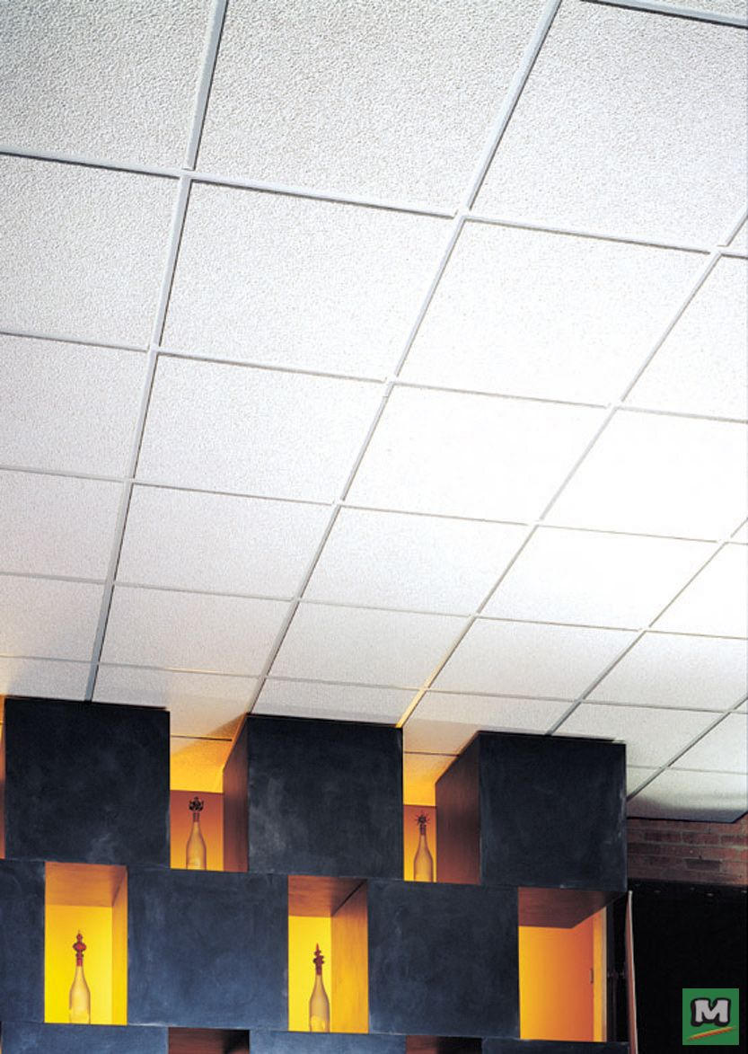 acoustical lay in ceiling tile panels