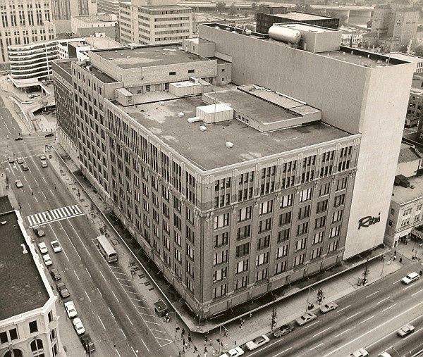 Rike's Department store Ohio, Dayton ohio, Department store