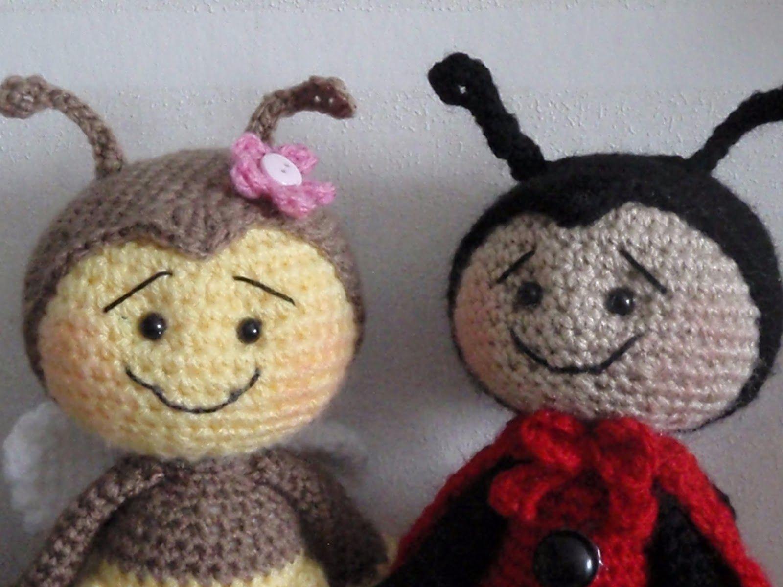 Brittas ami bumblebee ladybug crochet softies brittas ami bumblebee ladybug crochet toysfree bankloansurffo Choice Image
