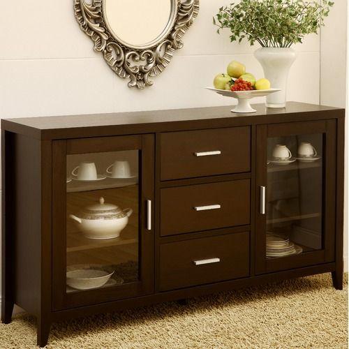 Hokku Designs Delano Dining Buffet / TV Cabinet Wayfair Home