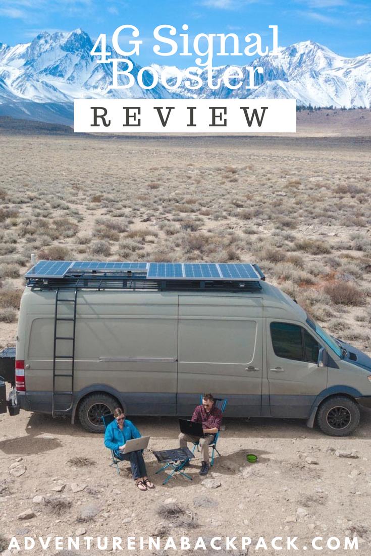 Installing A 4g Cell Signal Booster On Our Diy Camper Van Conversion Van Van Life Campervan Life
