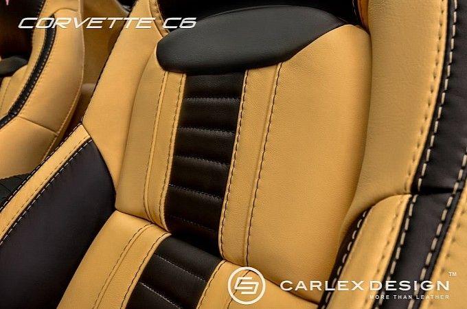 Corvette C6 Custom Interior: Pepper & Vanilla