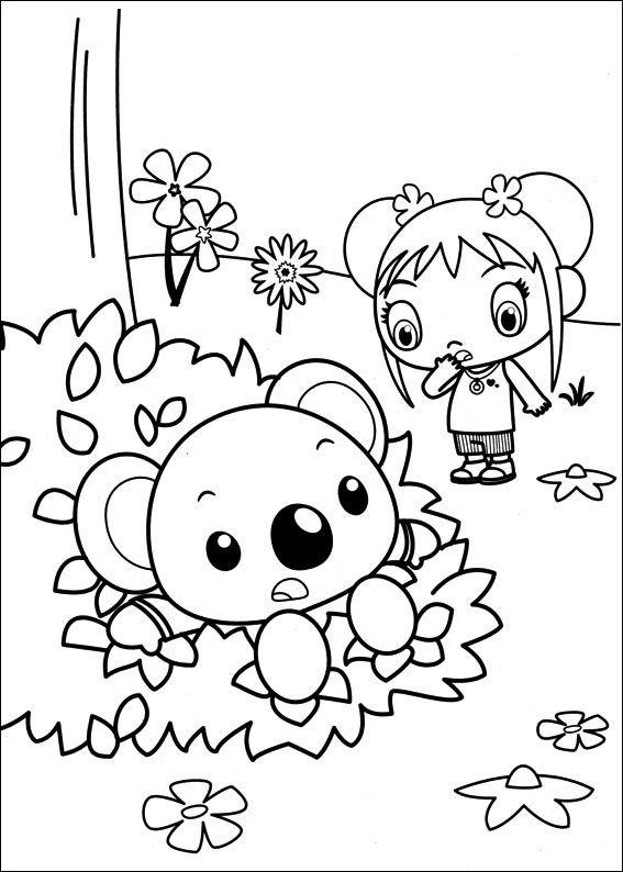 Ni Hao Kai-Lan Tegninger til Farvelægning 30 | coloring pages ...