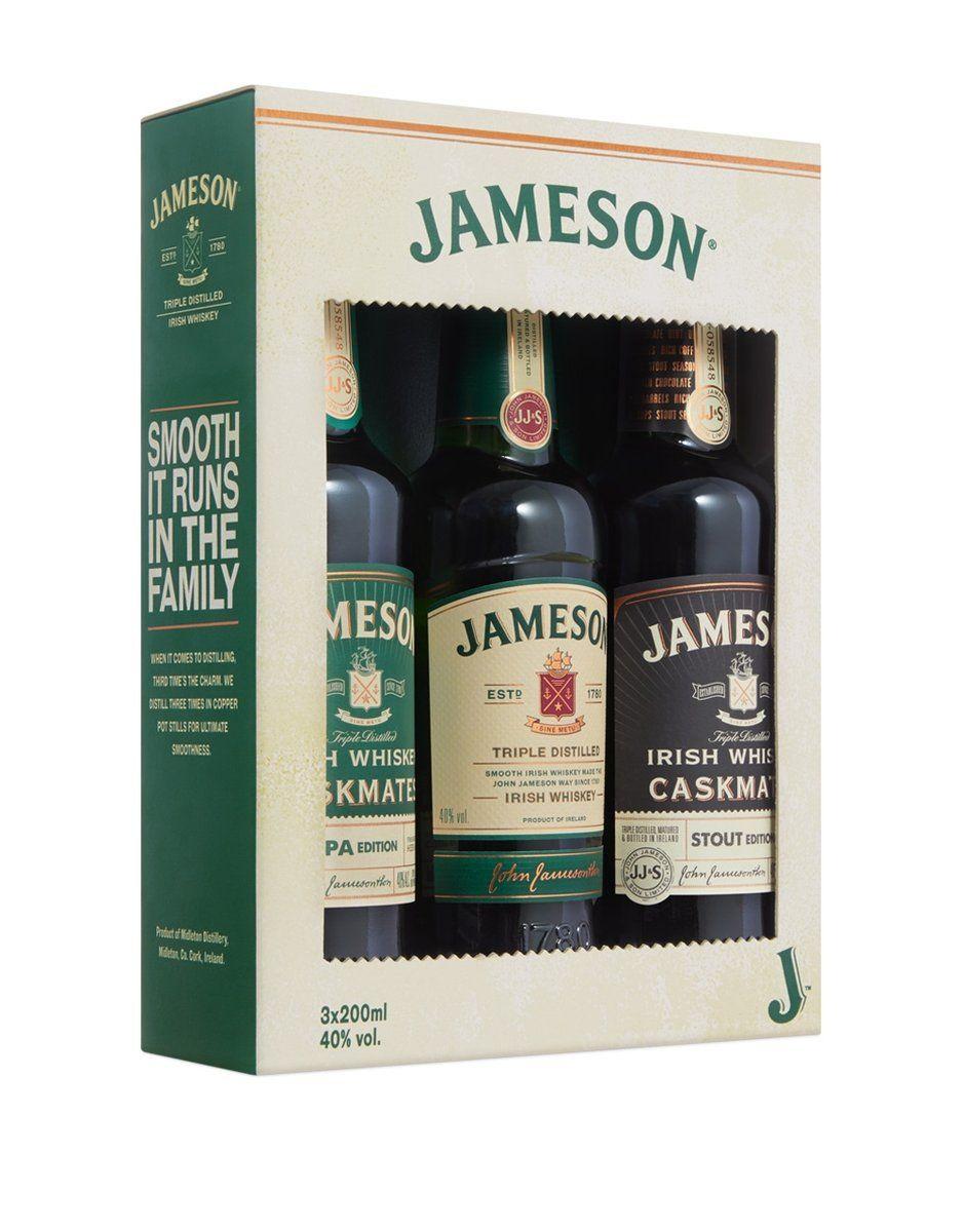 Jameson Irish Whiskey Trilogy In 2020 Jameson Irish Whiskey Irish Whiskey Whiskey Cocktails