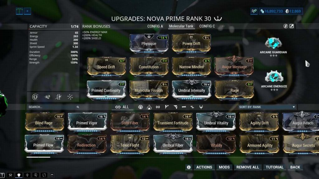 Warframe Umbra Nova Prime Best Build 2020 Best Build Smoke Screen Game Guide Her first ability is garbage, and straight forward, so i don't need any explaination on. warframe umbra nova prime best build