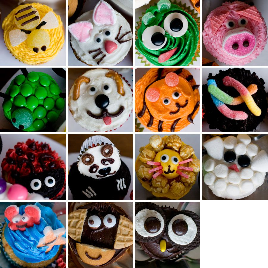 Jungle Animal Cakes Pictures