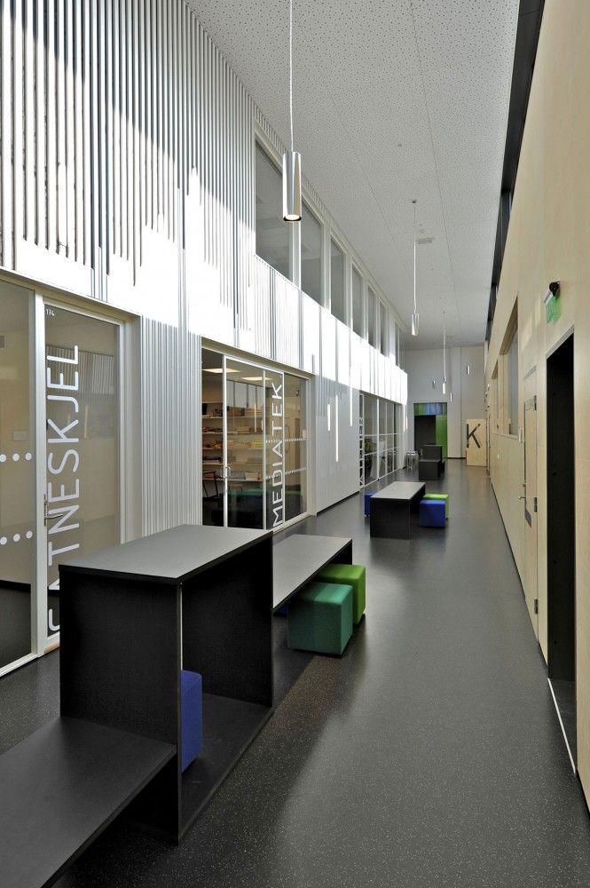tonstad school :: offices + open breakout areas