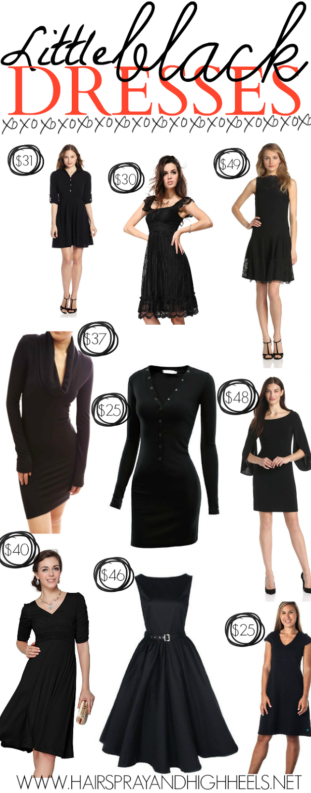 10 Little Black Dresses Under 50