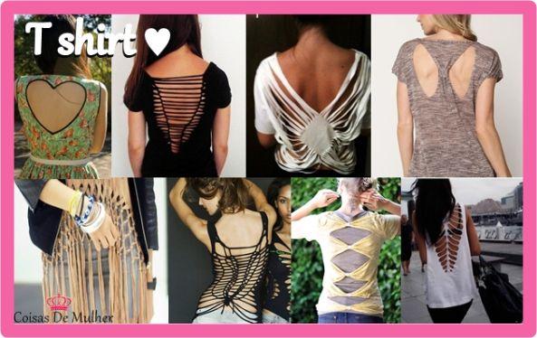 Reciclar y Transformar Camisetas para el Verano - http://blogmujer.org/reciclar-y-transformar-camisetas-para-el-verano/