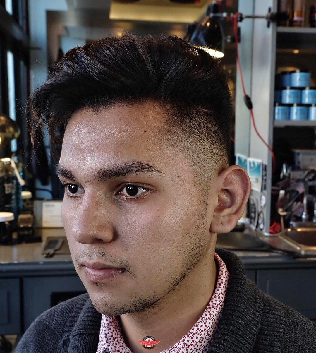 Pompadour Hairstyles For Men Pompadour Hairstyle And Pompadour