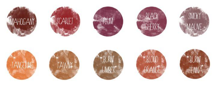 potatopudding: Super Sunday: Autumn Colored Hair Tutorials