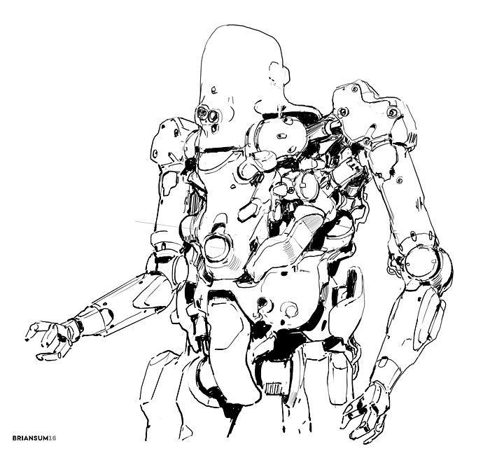 ArtStation - sketches 6-9, Brian Sum