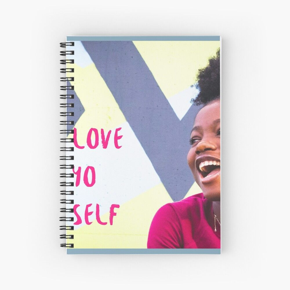 Affirmation spiral notebook by nizohni61 in 2020