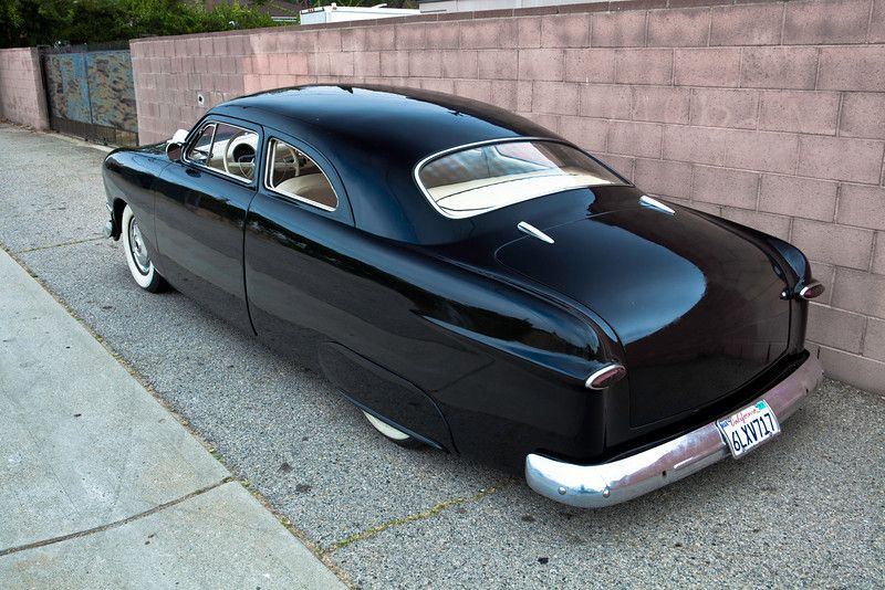 Traditional, chopped 50 Ford shoebox Custom for sale or