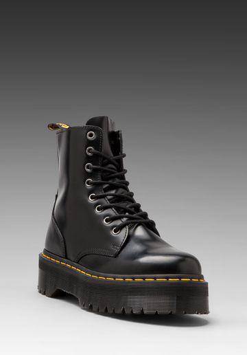 DR. MARTENS Jadon 8-Eye Boot in Black