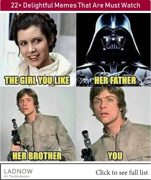 22 Delightful Memes That Are Must Watch Star Wars Memes Star Wars Fandom Star Wars Humor